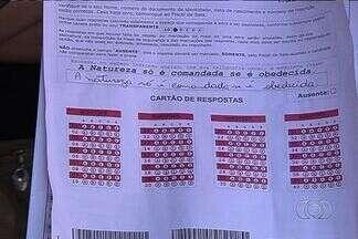 Candidatos têm alta expectativa para provas do concurso da Saneago, em Goiás - No ano passado, o concurso teve as provas anuladas após denúncias de irregularidades. O exame será reaplicado durante o final de semana.