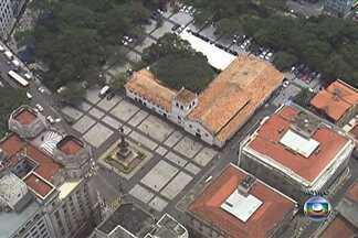 Pateo do Collegio preserva a história da fundação da cidade de SP - O Pateo do Collegio é um marco histórico de São Paulo. No lugar é possível ver a maquete dos primeiros anos depois da fundação da Vila de São Paulo de Piratininga, em 1554.