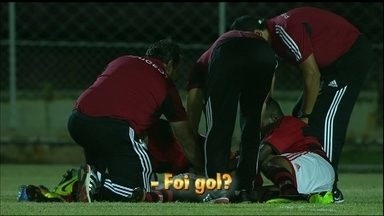 Que zica! Tiago, do Flamengo, é destaque da rodada na Copinha por gols perdidos - Foi gol?
