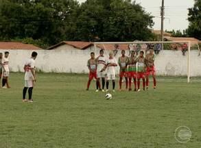 River realiza segundo jogo treino em José de Freitas e empata em 0x0 - River realiza segundo jogo treino em José de Freitas e empate não agrada Evair