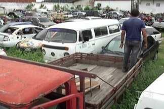 Detran vai realizar em São Luís leilão de veículos apreendidos em todo o estado - Iniciativa ocorre no dia 25 de janeiro. Em Caxias, é grande o número de carros e motocicletas que deverão ser incluídos nesse leilão.