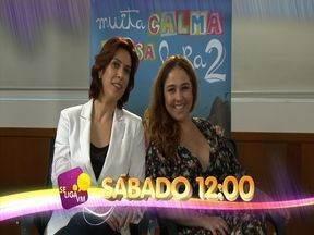 Chamada Se Liga com o elenco de 'Muita Calma Nessa Hora 2' - Entrevista com os atores no lançamento do filme