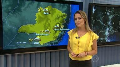 Pode chover na tarde desta sexta-feira em Belo Horizonte - A chuva deve vir acompanhada de raios e trovoadas.