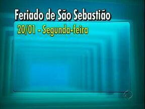 Segunda-feira é feriado em Paranavaí - Segunda é dia de São Sebastião e feriado em Paranavaí. O comercio e a Prefeitura vão ficar fechados.