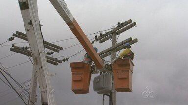 Eletrobras identifica subestações de energia clandestina, em Manaus - Furto de energia foi flagrado no Conjunto Cidadão 12, no bairro, Santa Etelvina; fiscalização identificou duas subestações que eram usadas para fazer funcionar bombas de água.