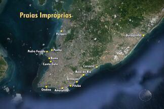 Quatorze praias de Salvador são consideradas impróprias para banho - A avaliação foi feita pela Instituto do Meio Ambiente e Recursos Hídricos
