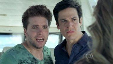 Félix e Niko impedem a fuga de Amarilys - Ingrid a aconselha a sair do país de carro