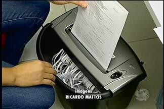 Projeto de reciclagem de papel da Apae - O projeto, além de diminuir a quantidade de lixo, também ajuda no trabalho pedagógico na Apae.