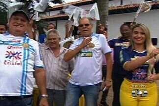 Aparecidense começa a contar com maior torcida - População de Aparecida de Goiânia, que costuma torcer para equipes da capital, já passa a apoiar o Camaleão.