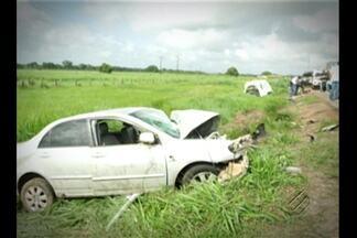 4 pessoas morrem durante grave acidente Castanhal, no nordeste do Pará - Uma ambulância, que transportava pacientes de Nova Timboteua, teria provocado a colisão.