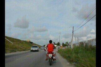 Número de multas a motociclistas sem capacetes cai na PB - Índice diminuiu, mas ainda preocupa a Polícia Rodoviária Federal.