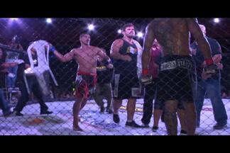 Briga no Extreme Fight provoca tensão no Ginásio Ronaldão, em João Pessoa - Briga envolveu lutadores, técnicos e alguns torcedores, mas foi rapidamente contida.