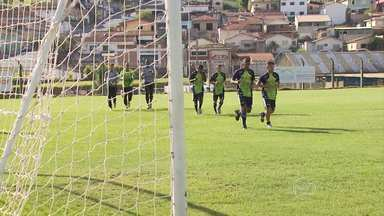 Saiba como a Caldense se prepara para o Mineiro 2014 - Time de Poços de Caldas se prepara para a disputa do Campeonato Mineiro