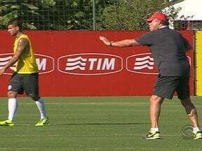 Time principal segue a pré-temporada treinando em Porto Alegre - Abel Braga começa a montar o time dele, que não deve ter Diego Forlán.