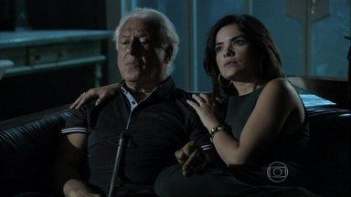 Amor à Vida - Capítulo de quinta-feira, dia 23/01/2014, na íntegra - Aline fica tensa quando Paloma pergunta por Rebeca