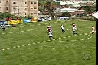 Os gols de Anapolina 3 x 0 Anápolis pela 3ª rodada do Campeonato Goiano - Viola, duas vezes, e Danilo dão vitória para a Xata no clássico de Anápolis.