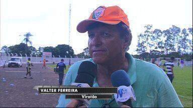 Valter Ferreira, técnico do Naviraiense, fala sobre derrota para o Ubiratan - Valter Ferreira, técnico do Naviraiense, fala sobre derrota para o Ubiratan