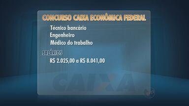 Caixa Econômica Federal abre inscrições para concurso - Objetivo de avaliação é formar cadastro de reserva.