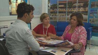 Idosos são clientes frequentes das agências de turismo - Eles compram pacotes de viagens para passear pelo Brasil e também pelo exterior, especialmente durante o verão.