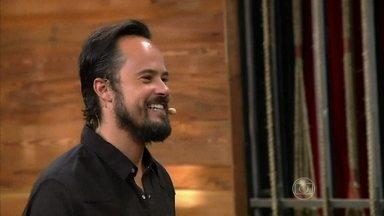 Paulinho Vilhena é o convidado do Vídeo Show de hoje - Ator relembra seus momentos como repórter do programa