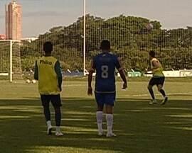 Reservas do Goiás fazem jogo-treino após clássico - Jogadores atuam contra o Interporto, do Tocantins, e levam a sério.