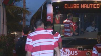 Náutico retorna após viagem perdida a Natal - Jogo contra o Botafogo-PB é adiado