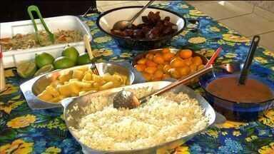 Aprenda a receita do Porco no Tacho - Veja como é preparado o porco no tacho em uma pousada de um assentamento rural de Rondonópolis.