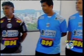 Técncio Didi e jogadores avaliam as chances do Montes Claros FC na disputa do Módulo II - Atacante Vinicius cumpre suspensãp e desfalca a equipe na estreia contra o Araxá.
