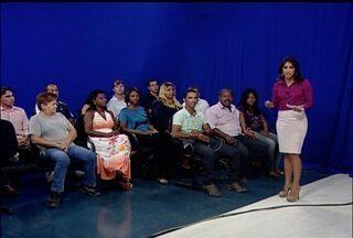 RJ Inter TV recebe telespectadores para a inauguração do novo estúdio - Novo estúdio foi inaugurado nesta sexta-feira (31).