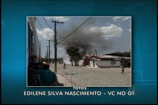Incêndio atinge depósito de material reciclável em Mogi das Cruzes - Depósito fica em Jundiapeba. Não houve feridos.