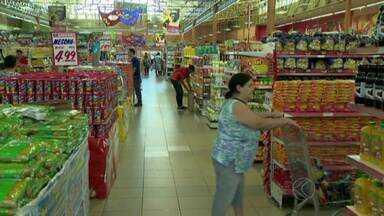 Zona da Mata tem uma das melhores médias de faturamento dos supermercados no estado - Em Minas Gerais, o faturamento dos supermercados cresceu quase 5% no ano passado.