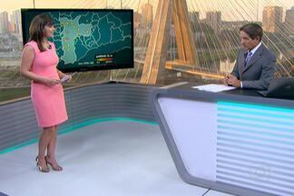 Meteorologistas dizem que São Paulo ainda terá duas semanas de muito calor e tempo seco - Nesta quarta-feira (5), a umidade do ar chegou a 29% deixando a cidade em estado de atenção para o tempo seco. Qualidade do ar ficou moderada durante o dia por causa dos ventos.