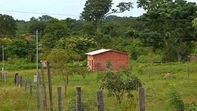 Famílias enfrentam dificuldades para sobreviver em Nova Olímpia (MT) - Famílias de um assentamento rural sofrem com a área muito pequena delimitada para produção.