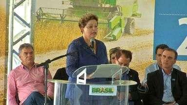 Visita de Dilma tem boa repercussão para os produtores rurais - A segunda visita da presidente ao estado foi especialmente para falar com os produtores rurais.