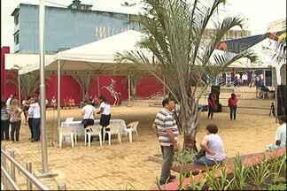 Centro de Mogi das Cruzes ganha nova praça - Local foi inaugurado na manhã deste sábado (15), e tem acesso ao terminal de ônibus.