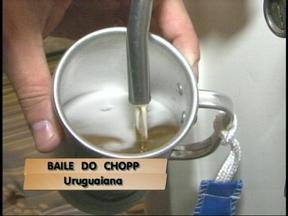 Festival do chopp reúne milhares de pessoas em Uruguaiana, RS - Público teve 10 mil litros da bebida à disposição.