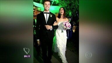 Bruno Astuto conta detalhes do casamento da atriz Carol Castro - Colunista fala para Ana Maria sobre cerimônia intimista da beldade