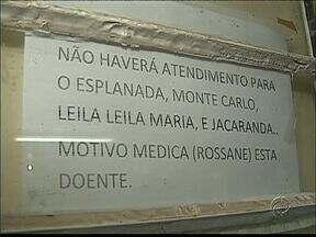 Pacientes reclamam da falta de médicos e de remédios em unidade de saúde - Hoje apenas as gestantes foram atendidas na unidade do Jardim Esplanada, em Ponta Grossa.