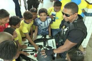 Exposição ensina prevenção à violência e às drogas em escolas de São Luís - Projeto será levado a todas as escolas públicas da capital