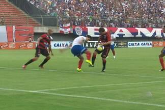Comentarista de arbitragem tira dúvidas sobre lance polêmico do BAVI - De acordo com Rodrigo Martins Cintra, o árbitro acertou na marcaÇão do lance.