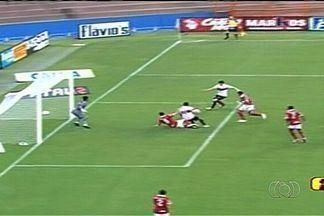 Atlético-GO dá o troco e derrota Vila Nova por 2 a 0 - Dragão devolve derrota do primeiro turno e bate Tigre em clássico