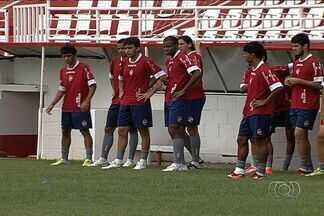 Vila Nova inicia semana sob pressão e com clima pesado - Tigre se reapresenta com desconfiança após quarta derrota seguida