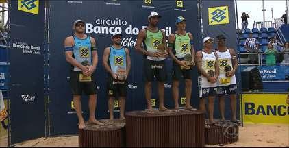 Veja como foram as finais da etapa de João Pessoa do Circuito Brasileiro de Vôlei de Praia - Pedro Solberg e Emanuel venceram entre os homens e Ágatha e Bárbara Seixas subiram ao lugar mais alto do pódio no feminino.
