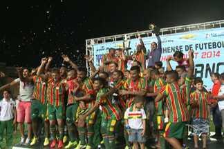 Sampaio conquista título do 1º turno do Campeonato Maranhense - No Castelão, o empate em 1 a 1 com o Moto deu o título ao Tricolor.