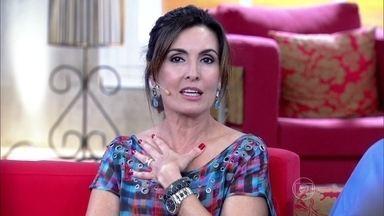 Fátima lembra bronca que levou de Boni - Isso aconteceu durante a transmissão do Grammy