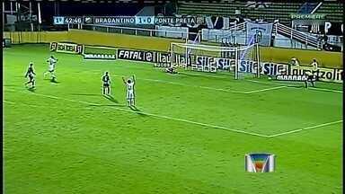 Bragantino define vitória no primeiro tempo e quebra série invicta da Ponte - A goleada por 5 a 0 para o Santos ficou no passado no Bragantino. A reabilitação na noite desta quarta-feira, com a vitória por 2 a 0 sobre a Ponte Preta, no Estádio Nabi Abi Chedid, em Bragança Paulista.