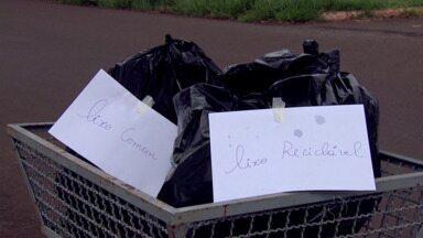 Moradores reclamam da falta de coleta seletiva em Londrina - O serviço é irregular em muitos bairros e a população quer providências da prefeitura. Na zona sul os moradores até separam mas o lixo acaba sendo misturado aos orgânicos.