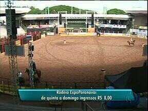 Começa hoje o Rodeio na Expoparanavaí - Começa hoje e vai até domingo o rodeio e as provas de tambores na Expoparanavaí.