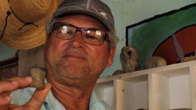 Cearense conserva a história do povo com resgate de objetos do mar - Conheça mais essa história do Nosso Ceará.