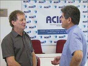 A ACIFI tem nova diretoria - A eleição foi hoje. João Batista é o novo presidente da associação.